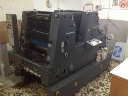 GTO 52 OFFSET PRINTING MACHINE 1